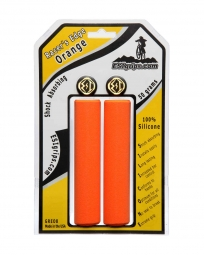 esi paire de grips racer s edge silicone orange 30mm