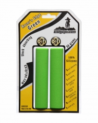 esi paire de grips racer s edge silicone vert 30mm