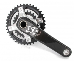 sram pedalier x0 gxp 2 2 silver 39 26 175 mm 10v sans boitier