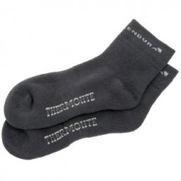 endura pack de 2 paires de chaussettes thermolite noir