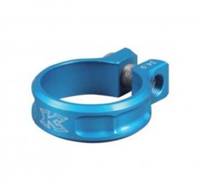 kcnc collier de selle ecrou sc11 bleu