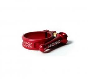 kcnc collier de selle rapide sc10 quick release rouge