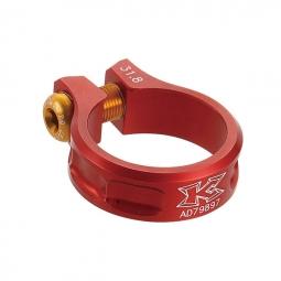 kcnc collier de selle ecrou sc11 rouge