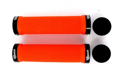 sb3 paire de grips kheops lock on orange noir