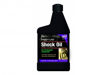 finish line huile fourche 10 wt 472 ml