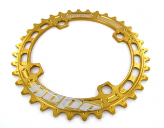 hope plateau single dh 104 mm gold