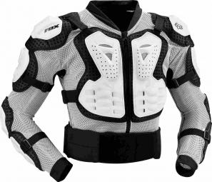 fox veste de protection titan sport blanc