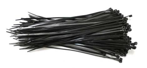 msc pack 10 colliers de serrage rilsan plastique 203 x 2 5mm noir