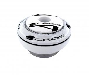 acros jeu de direction partie haute ah 06 externe ec34 28 6 roulement inox blanc