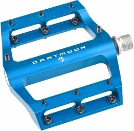 dartmoor paire de pedales fever v2 bleu