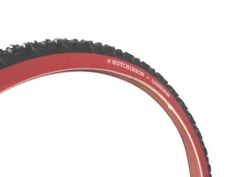 hutchinson pneu cameleon 26 x 1 95 noir flancs rouges rigide