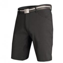 endura short urban noir avec ceinture