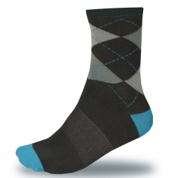 endura chaussettes argyll sock twinpack ultramarine tail