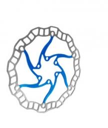 ashima disque aro 08 160mm bleu