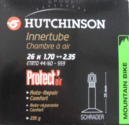 hutchinson chambre a air butyl protect air 26 1 70 a 2 35 schrader grosse valve a l