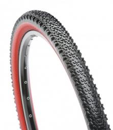 hutchinson pneu cobra 26x2 10 tubetype noir rouge tlready rr