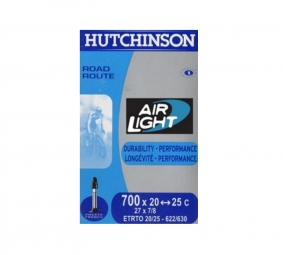 hutchinson chambre a air route airlight 700x20 25 valve 48 mm