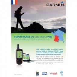 garmin topo france sud ouest v3 dvd carte micro sd pre chargee