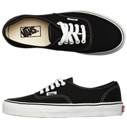 vans paire de chaussures authentic black
