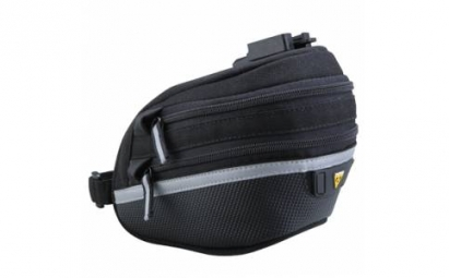 topeak sacoche de selle avec attache rapide wedge pack ii medium extensible