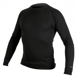 endura maillot merino manches longues noir taille xxl
