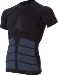 odlo maillot manches courtes evolution warm noir