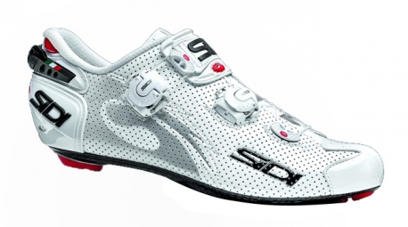 chaussures route sidi wire carbon air 2015 blanc verni