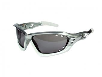 endura paire de lunettes mullet blanc argent