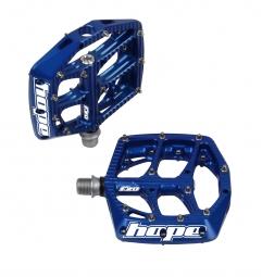 hope paire de pedales f20 bleu