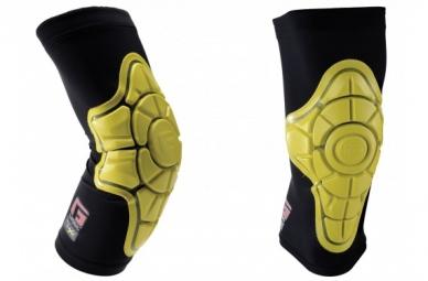 genouilleres g form knee pads jaune v1