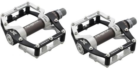 xpedo paire de pedales plates xmx 18ac noir gris