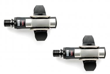 look paire de pedales s track carbon axe titane