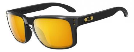oakley lunettes holbrook shaun white noir jaune iridium ref oo9102 08
