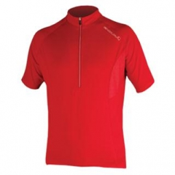 endura maillot manches courtes xtract rouge