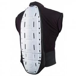 ixs veste de protection sans manches hammer vest blanc