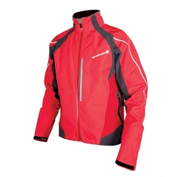 endura veste impermeable velo ii protection ptfe rouge