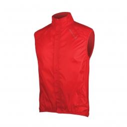 endura gilet compact sans manches pakagilet rouge