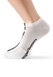 assos paire de chaussettes superleggerasocks s7 blanc
