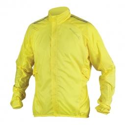 endura veste coupe vent pakajak jaune fluo