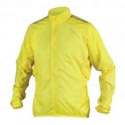 endura veste coupe vent pakajak jaune