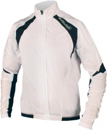 endura veste coupe vent equipe compact shell blanc