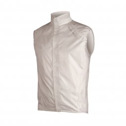 endura veste coupe vent femme pakagilet blanc
