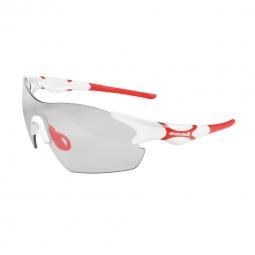 endura paire de lunettes crossbow blanc fume