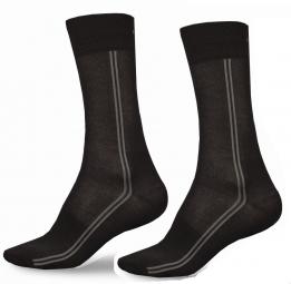 endura 2 paires de chaussettes longues coolmax noir