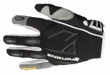 endura paire de gants mt500 noir blanc