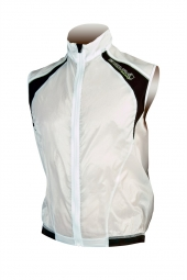 endura gilet coupe vent impermeable equipe blanc