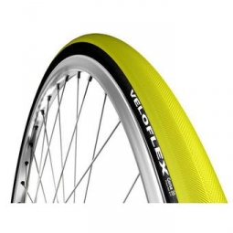 pneu veloflex corsa 700x23 noir jaune