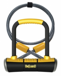 onguard antivol u pitbull mini dt 90x140mm o 14 mm cable de 120x10mm