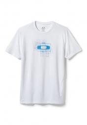 oakley tee shirt o square blanc