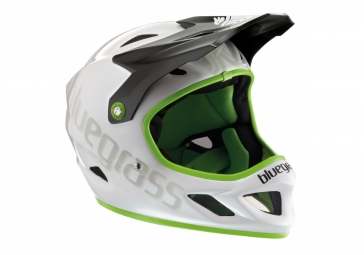 casque integral bluegrass explicit noir vert
